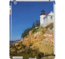 Bass Harbor Lighthouse iPad Case/Skin