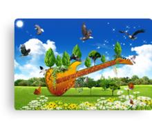 Guitard Canvas Print
