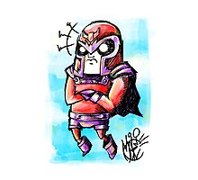 Magneto  Photographic Print
