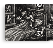 What goes POP in the night... Canvas Print