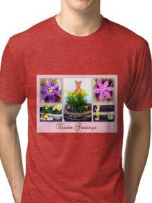 Easter Greetings Tri-blend T-Shirt