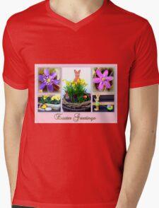 Easter Greetings Mens V-Neck T-Shirt