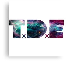 TDE Trippy Nebula Canvas Print