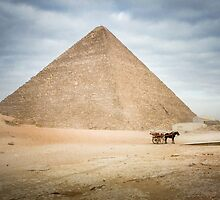 The Great Pyramid of Khufu at Giza by Sue Martin