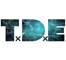 TDE Crab Nebula Teal by Telic