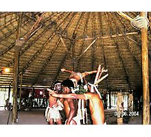 Tainos Ceremony Conclusion - # 2 out of 3 in a series. Photographic Print