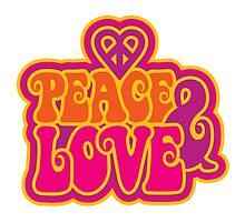 Love and Peace by Lisann