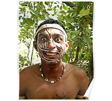 Tainos Ceremony Participant - #3 out of 3 of a series Poster
