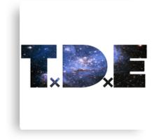 TDE Blue Dream Nebula Canvas Print