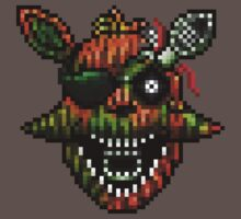 Five Nights at Freddy's 3 - Pixel art - Phantom Foxy Kids Clothes