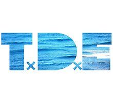 TDE Ocean Blue Waves by Telic