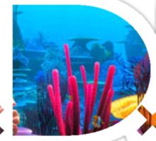 TDE Coral Reef Waters Sticker