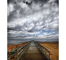 Laurence Harbor New Jersey ....Jetty Photographic Print