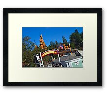 Twain View Framed Print