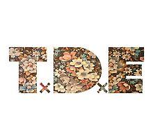 TDE Floral Pattern Photographic Print