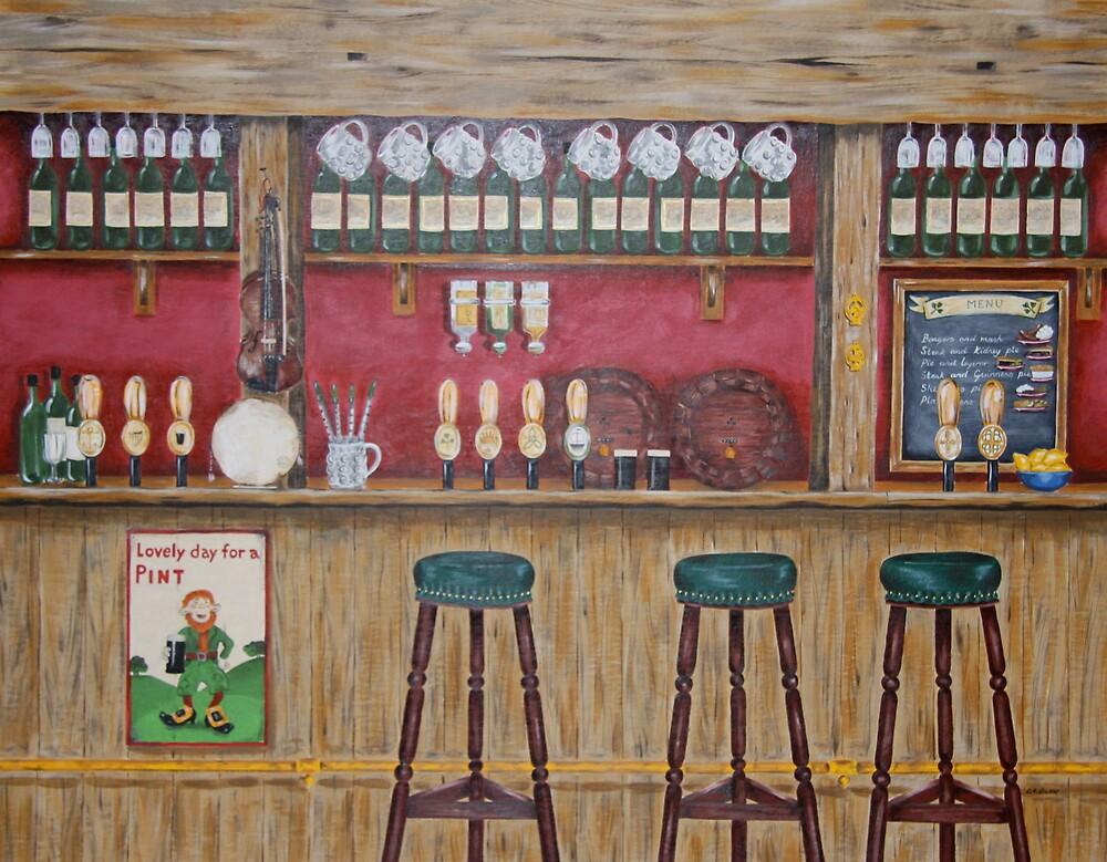 Irish Pub by RuthBaker