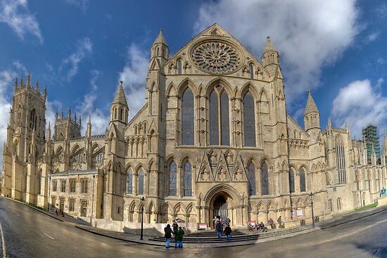 York Minster HDR Panoramic by Paul Thompson Photography