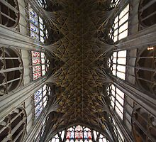 Gloucester Cathedral Ceiling by LeeMartinImages