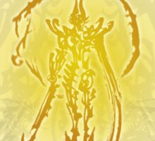 Garo - Golden Radiance Sticker