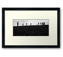 Box Hill Framed Print