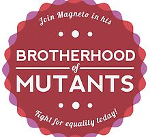 Join the Brotherhood of Mutants by thejessi