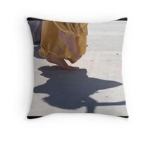 Young Belly Dancer Throw Pillow