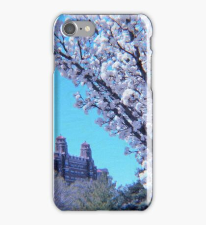 Citi Plaza & Dogwoods 01 iPhone Case/Skin
