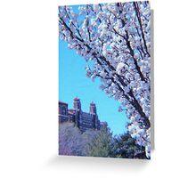 Citi Plaza & Dogwoods 01 Greeting Card