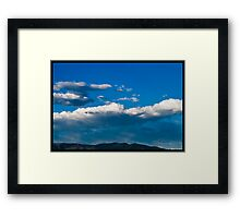 Clouds Over the Sangre de Christos Framed Print