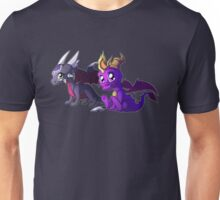 Chibi Spyro and Cynder Unisex T-Shirt