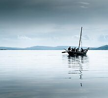 Fishing Boat, Lake Victoria by Kenny Holt