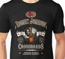 Robert Johnson Devil Driven Delta Blues  Unisex T-Shirt