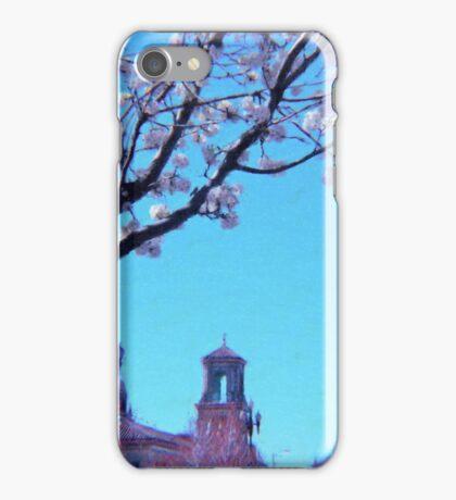 Citi Plaza & Dogwoods 02 iPhone Case/Skin