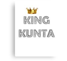 King Kunta Crown Canvas Print