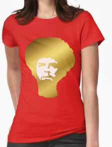 Afro Che in gold Womens Fitted T-Shirt