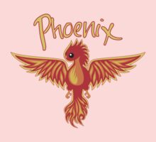 Phoenix With Title One Piece - Short Sleeve