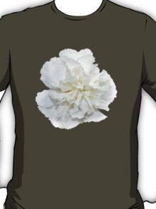 Single White Carnation  T-Shirt