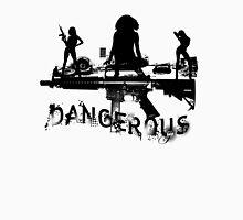 dangerous Womens Fitted T-Shirt