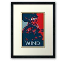 Yasuo - League of Legends - Wind Framed Print