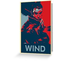 Yasuo - League of Legends - Wind Greeting Card