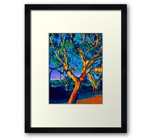The Thoughtful Tree Framed Print