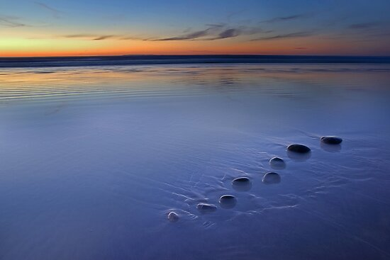Blue Pebbles by Robert Kendall