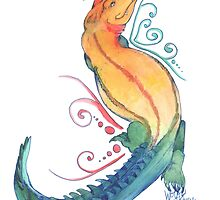 Rainbow Gator by Wolfy Howell