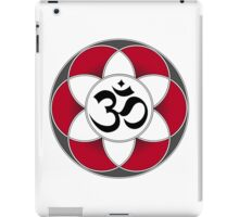 Aum Seed of Life Red iPad Case/Skin
