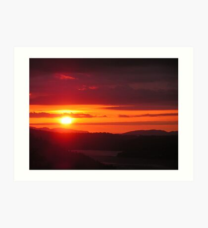 June Sunrise Art Print
