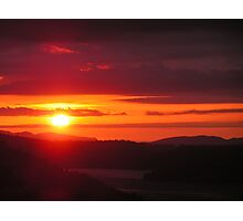 June Sunrise Photographic Print