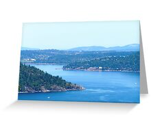 Clear Summers Day Greeting Card