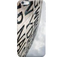 Wales Millenium Centre, Cardiff iPhone Case/Skin