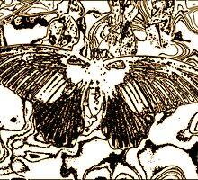 Ink Butterfly by Pamela Hubbard