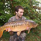 20 lb Mirror carp by Robert Kendall